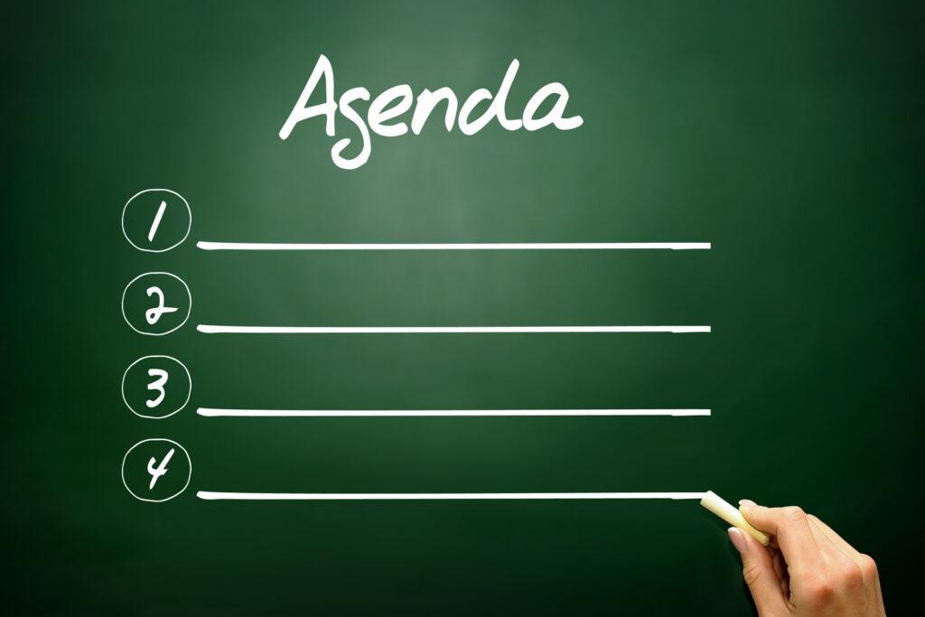 Uitnodiging en agenda jaarvergadering
